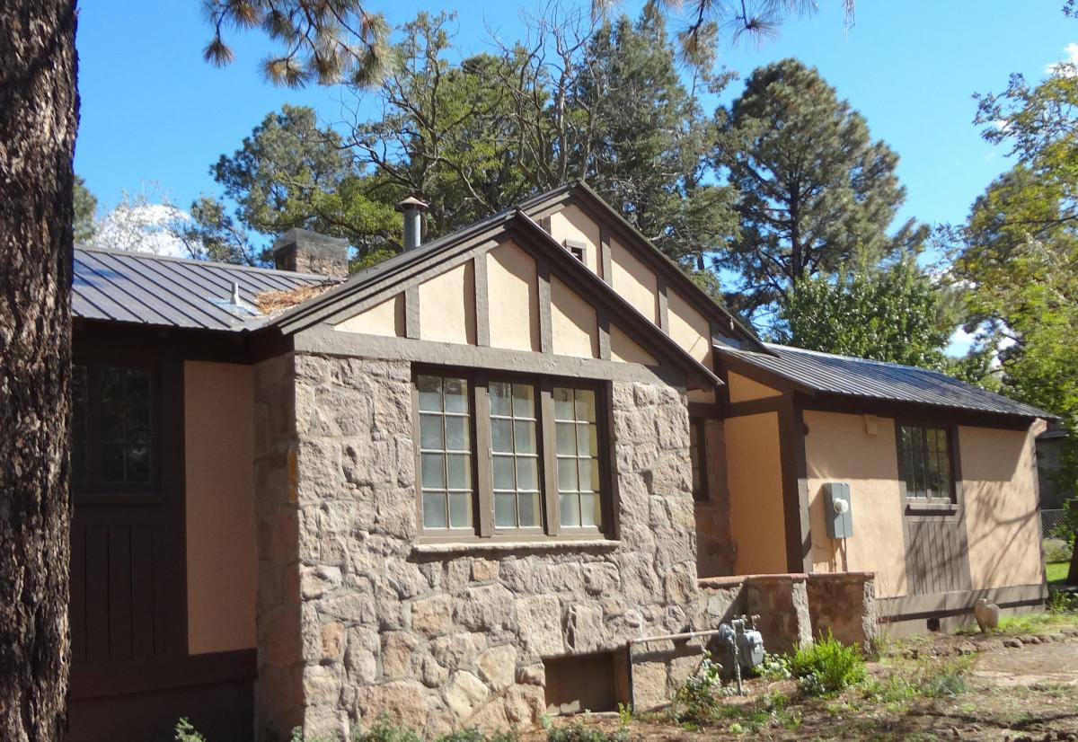 The Bethe House at Los Alamos