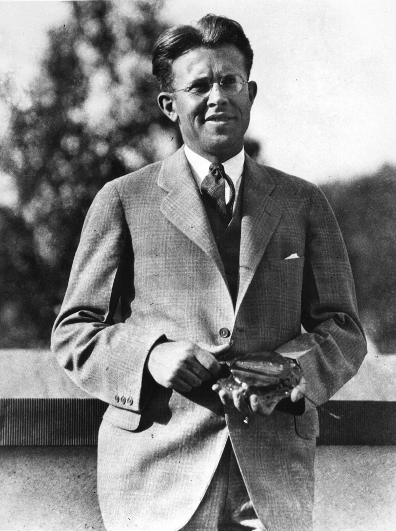 Ernest O. Lawrence. Photo courtesy of Argonne National Laboratory.