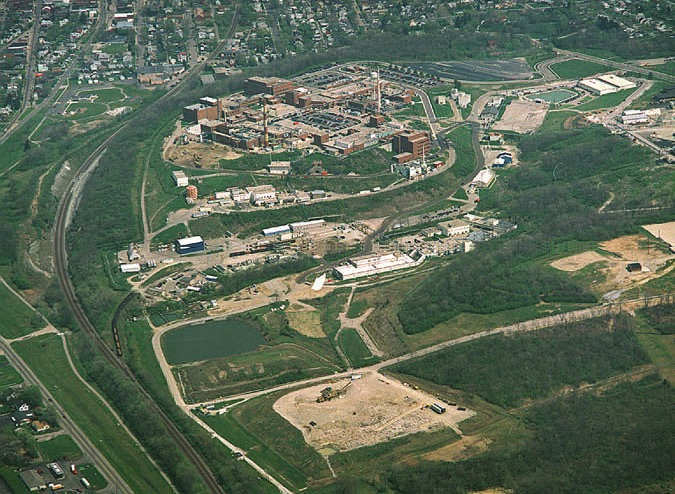 Mound Laboratories aerial view