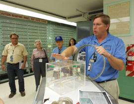 A tour of the control room at the B Reactor