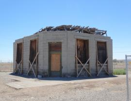 The White Bluffs Bank on the Hanford Site today