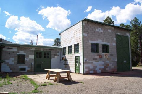 The V Site at Los Alamos
