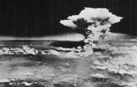 The bombing of Hiroshima