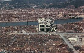 Hiroshima after the bombing