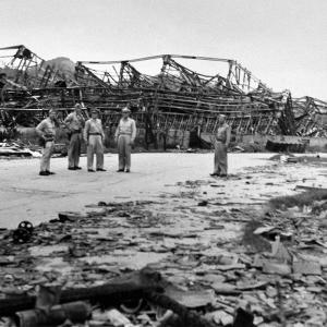 Images from the Surveys in Hiroshima and Nagasaki