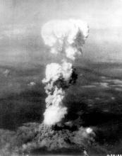 Explosion over Hiroshima.