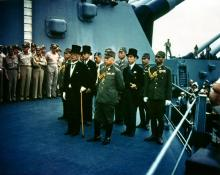 Surrender of Japan.