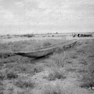 Dugout Boat in Hanford