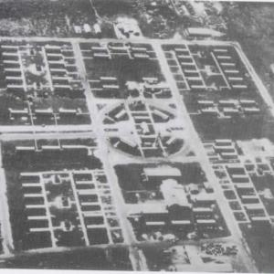 Aerial view of 509th on Tinian