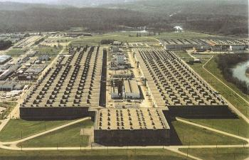 The K-25 Plant in Oak Ridge, Tennessee