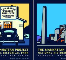 Manhattan Project site posters