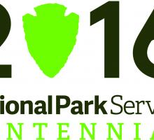 National Park Service centennial logo. Image courtesy of the National Park Service.