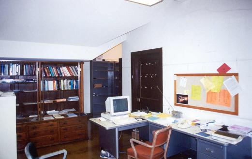 J. Robert Oppenheimer once occupied this office at Berkeley