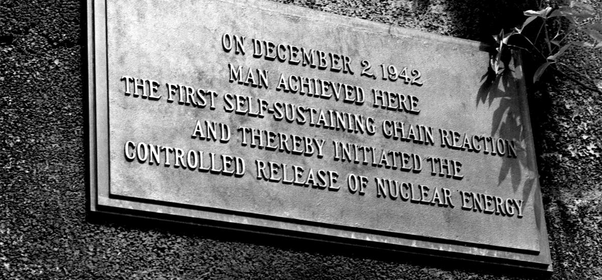 Chicago Pile-1 plaque